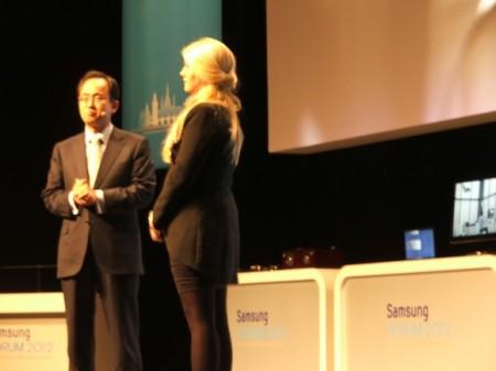 Samsung Forum 2012 v Kongresovém centru Praha