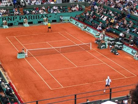 3D televize Roland Garros 3D