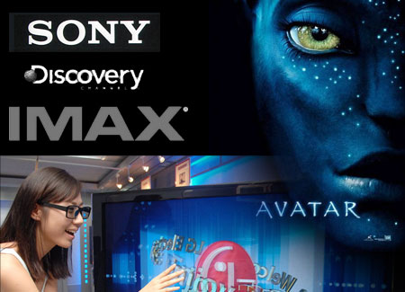3D televize - Sony IMAX Discovery
