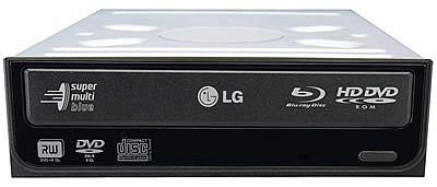 HD-DVD/Blu-ray kombo od LG