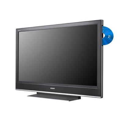 LCD televize s Blu-ray přehrávačem/rekordérem
