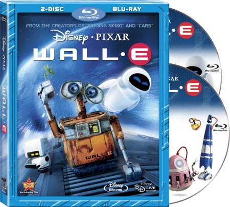 VALL-I alias WALL-E na Blu-ray