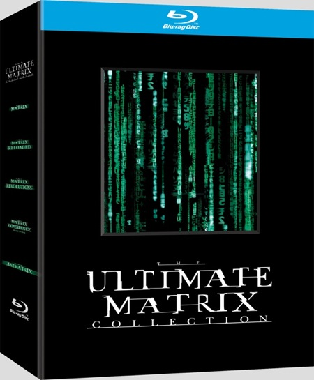 The Ultimate Matrix Collection na blu-ray