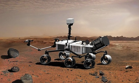 HDTVBlog.cz Curiosity NASA Mars