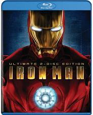 film Iron Man na blu-ray