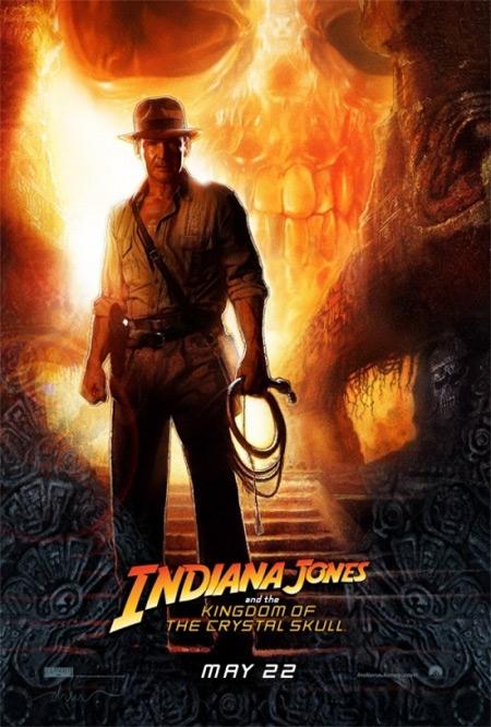 Indiana Jones a Království křišťálové lebky - plakát k filmu