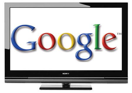 Google - LCD televize Sony Bravia