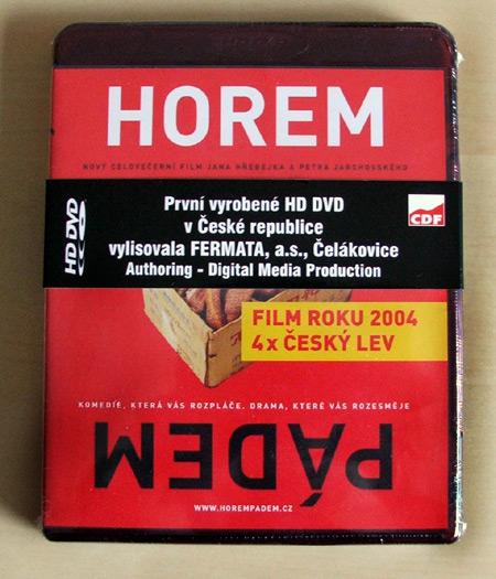 HD-DVD Horem Pádem