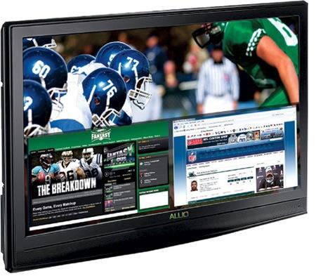 HDTV LCD televize s blu-ray přehrávačem