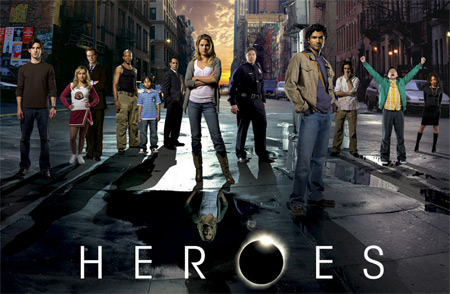 Postavy ze seriálu Heroes