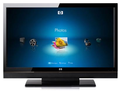 Nové LCD televize HP