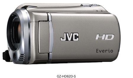 JVC kamery Everio GZ HD620
