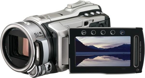 HDTVBlog.cz obrázky JVC kamery Everio GZ HM1