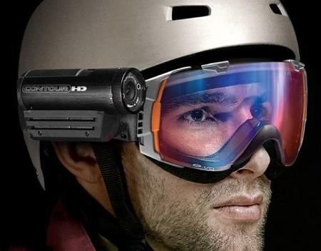 VholdR HD kamera připnutelná na helmu