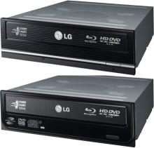 Kombo Blu-ray/HD-DVD mechanika pro PC od LG