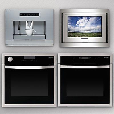 kuchyňská trouba s LCD televizí