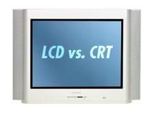LCD televize vs. CRT