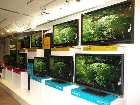 LCD televize Regza