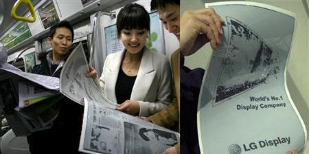 LG Display - elektronický papír