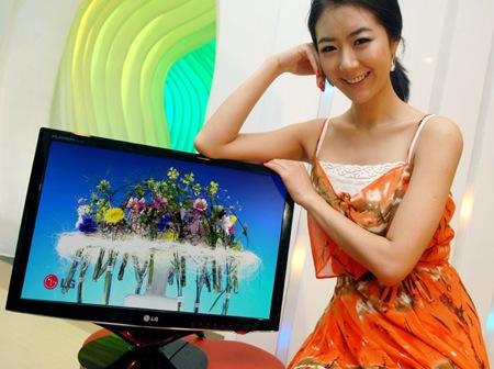 LG LCD displej W2286L s LED podsvícením