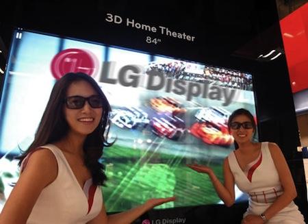 LG LCD televize 3D 84 palcu SID 2010