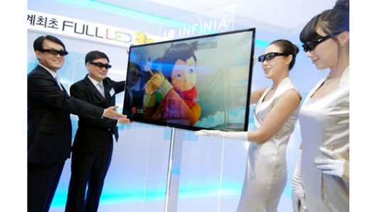 LG LCD televize LG 3D LX9500 Infinia