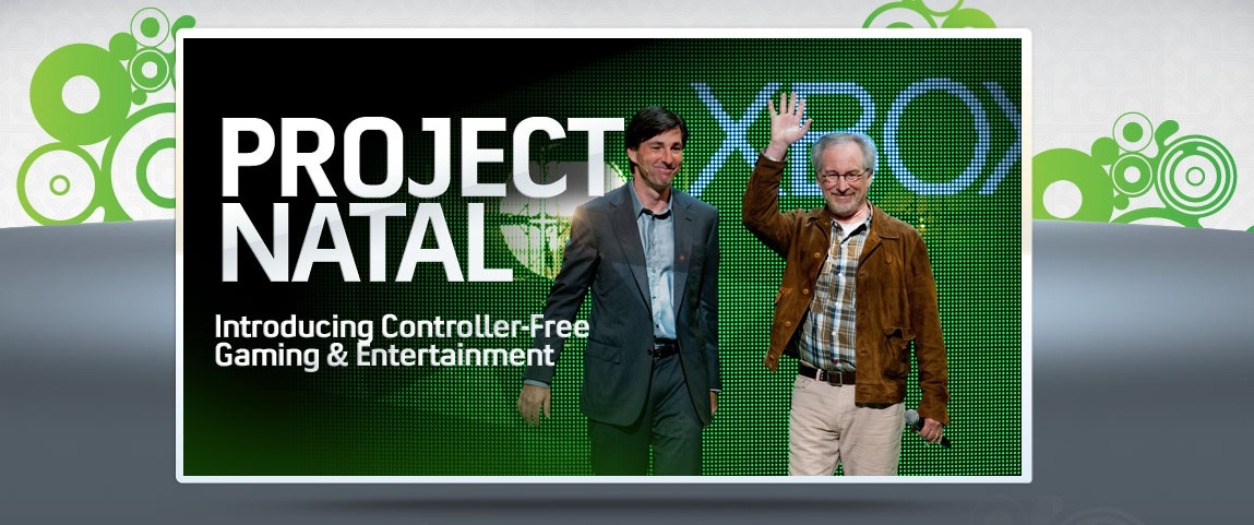 Xbox 360 - Project Natal a Steven Spielberg