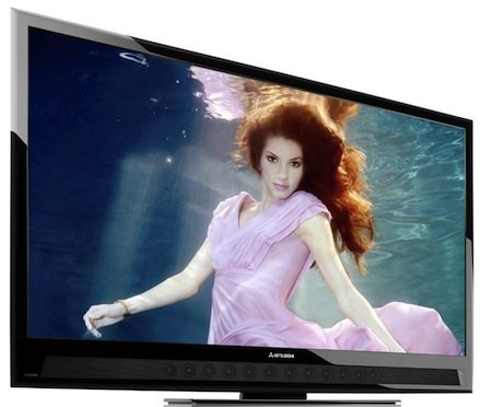 HDTVBlog.cz obrázky Mitsubishi LCD televize Unisen