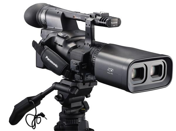Panasonic Full HD 3D kamera