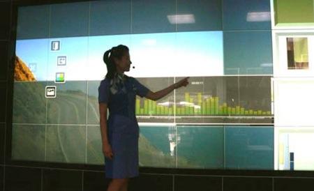 Panasonic digital wall