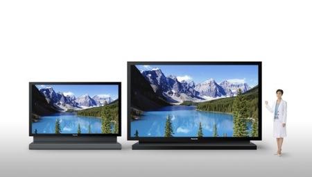 IFA 2008: rozdíl mezi Panasonic plazmovými televizemi s úhlopříčkou 103