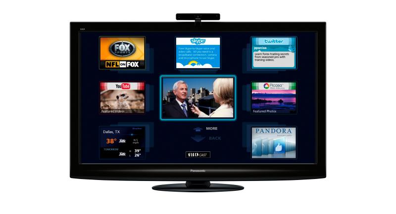 Panasonic plazmové televize Viera Cast