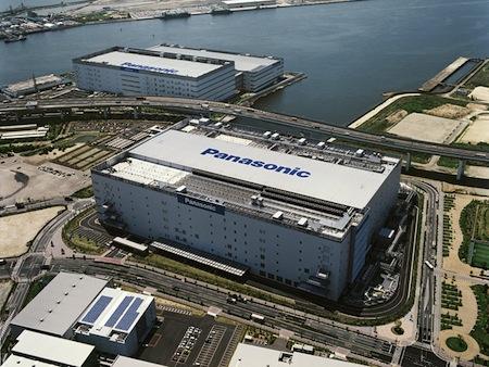 Panasonic - továrna Amagasaki