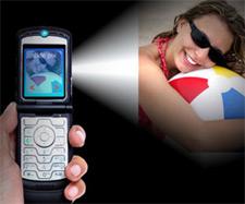 Piko-projektory pro mobily
