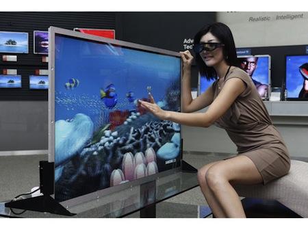 LCD televize Samsung 3D