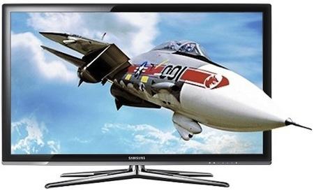 Samsung LCD televize 3D LED HDTV C7000