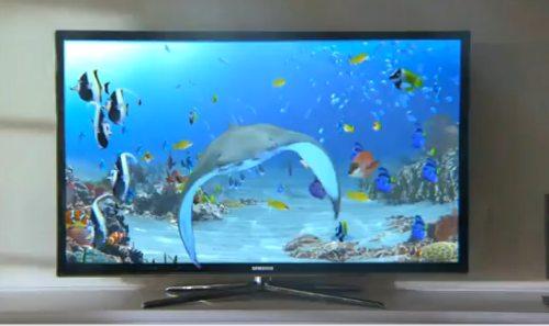Samsung LCD televize - 3D LED TV