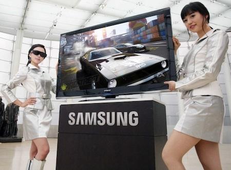 Samsung LCD televize 3D televize Korejky