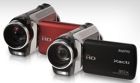 Sanyo HD kamery Xacti VPC-SH1