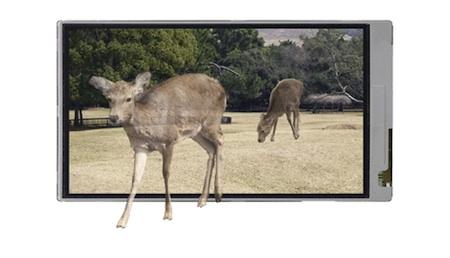 HDTVBlog.cz - obrázky - Sharp 3D LCD displeje - 3D dotykový displej