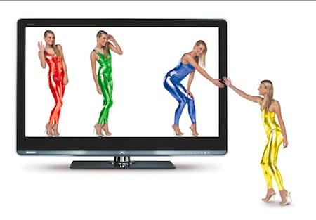 Sharp - LCD televize - AQUOS LE820e quattron
