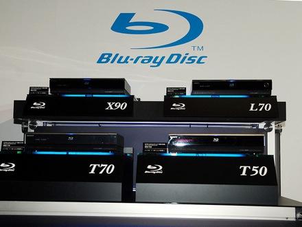 Sony Blu-ray rekordéry