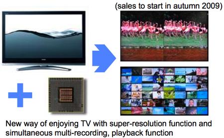 čip Cell pro HD televize Toshiba