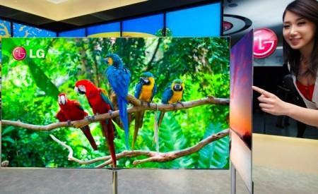 """OLED televize LG s úhlopříčkou 55"""", tenká pouze 4 mm. foto: LG Electronics"""